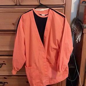 Scrub t shirt coat and pants